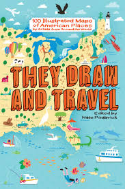 Book Map Shop They Draw U0026 Travel