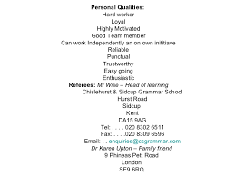 Skills To Include On A Resume Enchanting Personal Attributes To Put On A Resume 55 For Your