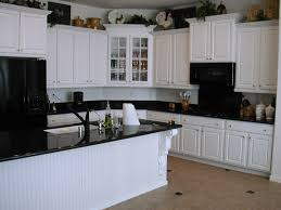 impressive design ideas off white kitchen cabinets with black