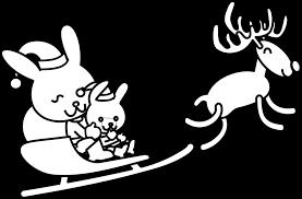 cool christmas reindeer drawings santa claus and reindeer