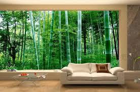 green wallpaper room for living room design ideas in uk
