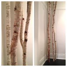 birch tree decor birch tree pipes see saw