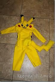 pikachu costume diy pikachu costume keeping it simple crafts