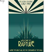 bioshock rapture poster promotion shop for promotional bioshock