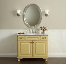 Powder Rooms With Wainscoting Custom Bathroom Vanities Powder Room Traditional With Wainscoting