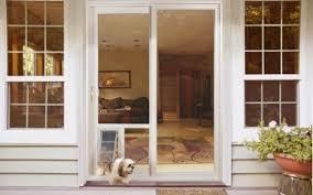 Dog Door For Patio Sliding Door Doors Extraordinary French Door Dog Door Pet Doors For Dogs