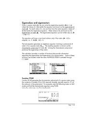 characteristic equation calculator jennarocca