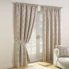 mia autumn luxury jacqaurd lined pencil pleat curtains pair