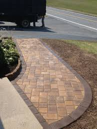 What Is Paver Base Material Made Of by 10 Front Walkways For Maximum Curb Appeal Paver Walkway Stone