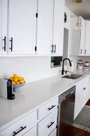 black pulls for white kitchen cabinets white kitchen with black pulls home decor kitchen white