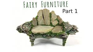 how to make fairy furniture out of clay u0026 rocks part 1 diy fairy