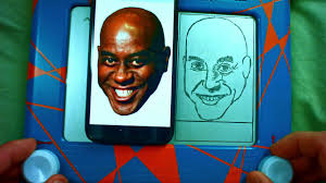ainsley harriott etch a sketch timelapse youtube