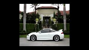 mitsubishi cars white mitsubishi eclipse 2g white teaser dsm youtube