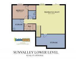 michigan home builders floor plans sun valley sable homes