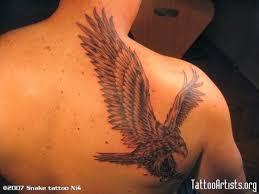 tattoo gallery for men hawk tattoos for men