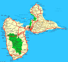 Hummingbird Map Weltrekordreise Nord Amerika Karibik Guadeloupe Pointe à Pitre