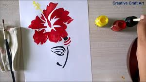 ganpati painting at home ll cca गणपत प त ग youtube