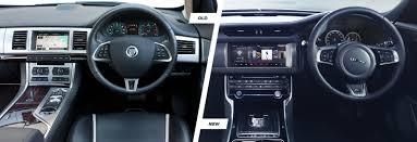 jaguar xf vs lexus is jaguar xf u2013 old vs new compared carwow