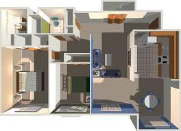 Three Bedroom House Interior Designs Home Design 3 Bedroom 1 Bath Kerala House Plans