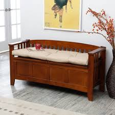 Black Indoor Bench - entryway bench cushion treenovation