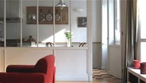 s駱aration cuisine salon separation cuisine salon vitree 11 la verri232re dans la