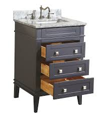 Bathroom Vanity Sets Cheap by Kitchen Bath Collection Kbc L24gycarr Eleanor Bathroom Vanity With
