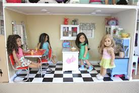 18 Inch Doll Kitchen Furniture by Pippaloo For Dolls The Dollhouse Tour