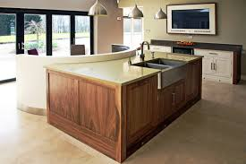 handmade painted u0026 black walnut kitchen contemporary kitchen