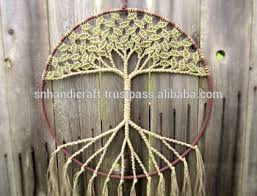 large macrame wall hanging large catcher tree of wall