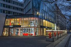 audi germany headquarters audi city berlin autohaus der zukunft