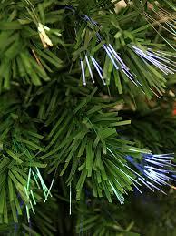 5 u0027 pre lit fiber optic artificial christmas tree with red