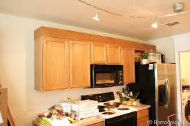 Oak Cabinet Kitchen Makeover - update builder grade cabinets fast without painting