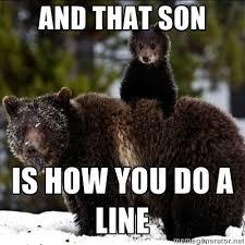 Bear Cocaine Meme - and that son is how cocaine bear know your meme