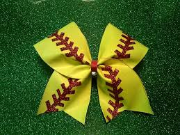 softball bows softball bow boutique