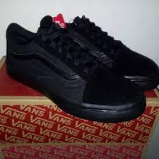 Sepatu Vans sepatu vans skool black shopee indonesia