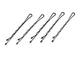 kirby grips pack of 30 wave black hair bobby pins kirby grips hair