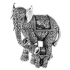 and baby elly statue silver elephant ornament co