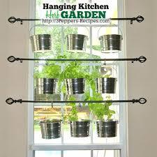 window herb harden hanging kitchen herb garden hometalk