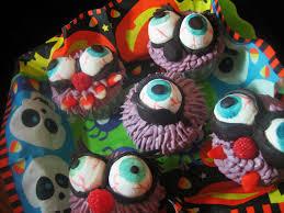chef tess bakeresse halloween monster eyeball cupcakes