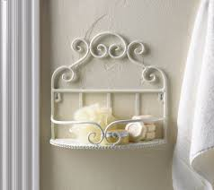 amazon com fa decors charming white iron scroll work wall shelf