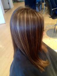 long brown hairstyles with parshall highlight dark blonde highlights on brown hair with angles ig hairbynickyz