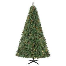 time pre lit 7 5 kennedy fir artificial tree