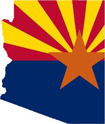 Arizona State Map by Arizona Flag Map U2022 Mapsof Net