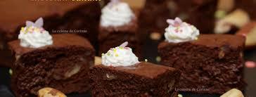 la cuisine de corinne brownies fondants chocolat banane la cuisine de corinne