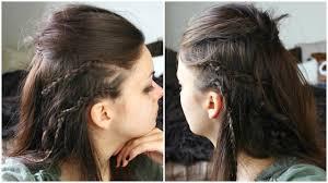how to do hair like lagatha lothbrok lagertha vikings hair makeup costume youtube