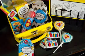 party favors for boys vintage comic book style birthday party on a budget