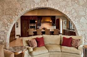 Interior Stone Arches Arches In Interior Design