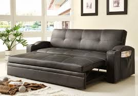 hideaway couch bedroom hideaway bed sofa be equipped with leather black sofa