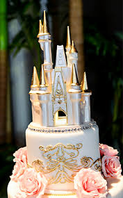 cinderella castle cake topper wedding cake wednesday pink gold soiree disney weddings