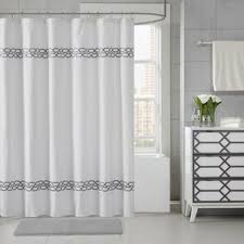 Gray Fabric Shower Curtain Gray U0026 Silver Shower Curtains You U0027ll Love Wayfair